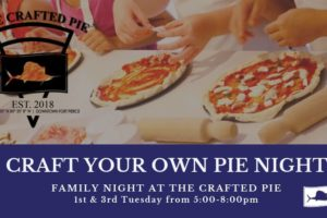 Craft your own pie night