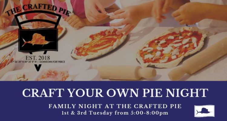 Craft your own pie night